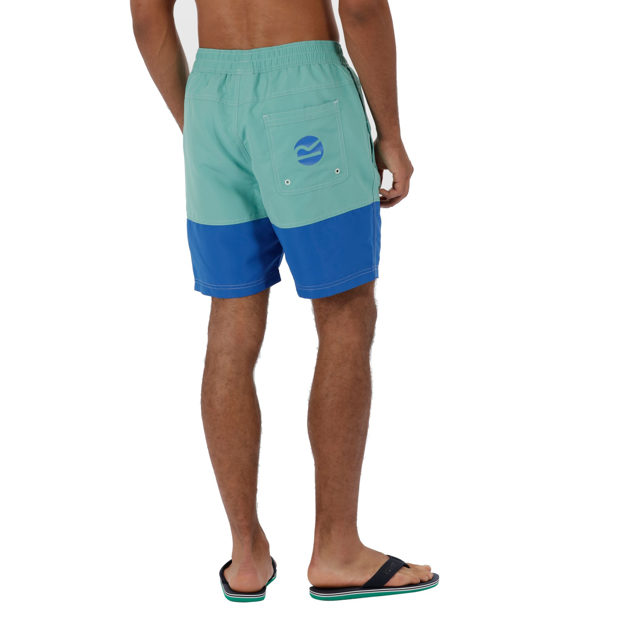 da33a1133e Regatta BRACHTMAR II SWIM SHORTS - Jade Green / Oxford Blue